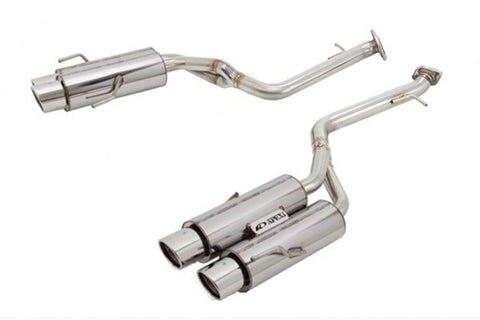 N1-X Evolution Extreme Axleback Exhaust - 2015+ Lexus RC-F