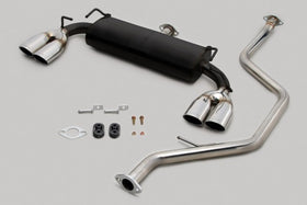 TOM'S Racing- Stainless Exhaust System for 2011-2013 Lexus CT200h (Quad Tips)