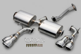 TOM'S Racing- Stainless Exhaust System for 2015-2017 Lexus NX200t/ 300 Turbo (Quad Tips)