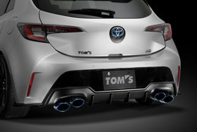 TOM'S Racing- Rear Bumper Diffuser for 2019+ Toyota Corolla Hatchback