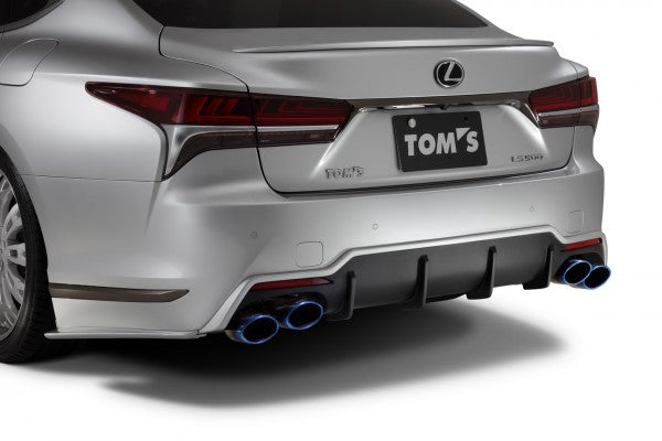 TOM'S Racing- Rear Bumper Diffuser for 2018+ Lexus LS500 (FRP-Unpainted)