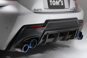 TOM'S Racing- Carbon Rear Bumper Diffuser for 2015+ Lexus RCF