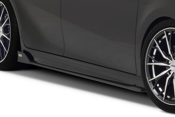TOM'S Racing- Side Diffuser for 2018+ Toyota Camry (FRP-Painted- Matte Black)