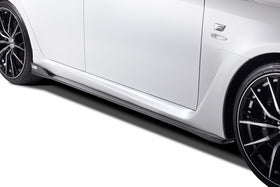 TOM'S Racing- Carbon Side Step for 2008-2014 Lexus ISF