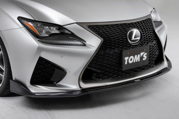 TOM'S Racing- Carbon Front Diffuser for 2015+ Lexus RCF