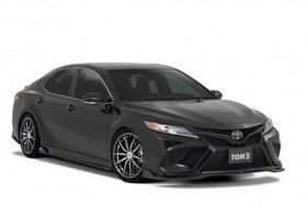 TOM'S Racing- Front Diffuser for 2018+ Toyota Camry (FRP-Painted- Matte Black)