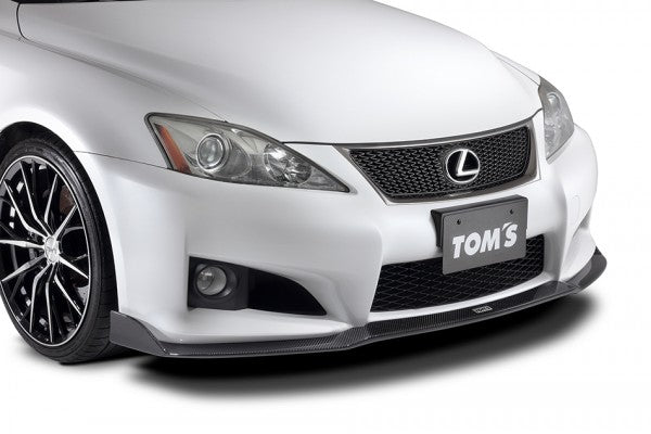 TOMS' Racing- Carbon Front Spoiler for 2008-2014 Lexus ISF