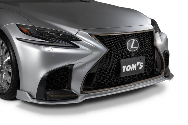 TOM'S Racing- Front Diffuser for 2018+ Lexus LS500 (FRP-Unpainted)