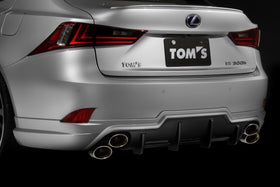 TOM'S Racing- Rear Under Spoiler for 2014-20** Lexus IS (200t, 250, 300, 350)
