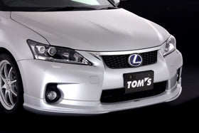 TOM'S Racing- Front Lip Spoiler for 2011-2013 Lexus CT200h