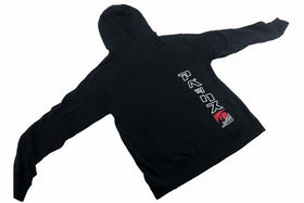 A'PEXi Cursive Zip-up - Hoodie - Black