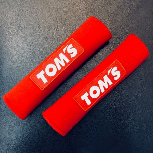 TOM'S Racing- Seat Belt Shoulder Pad (Red)