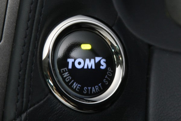 TOM'S Racing Push Start Button [Type 001] - Lexus, Scion & Toyota *ETA end of April*