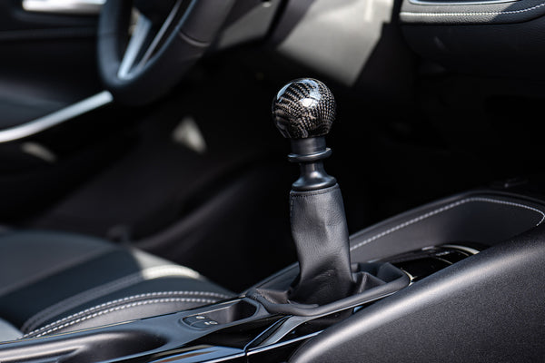TOM'S Racing- Carbon Shift Knob for 2019+ Toyota Corolla Hatchback M/T (Manual Transmission)
