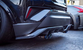 LEXON Toyota 2017+ C-HR Rear Under Diffuser (FRP)