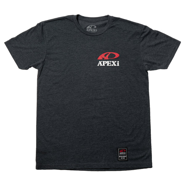 A'PEXi T-Shirt - Knowledge Makes Power Ring Tee - Grey