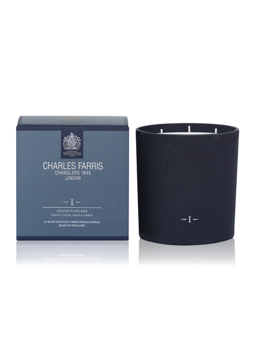 Grand Cascade Signature 3 Wick Scented Candle