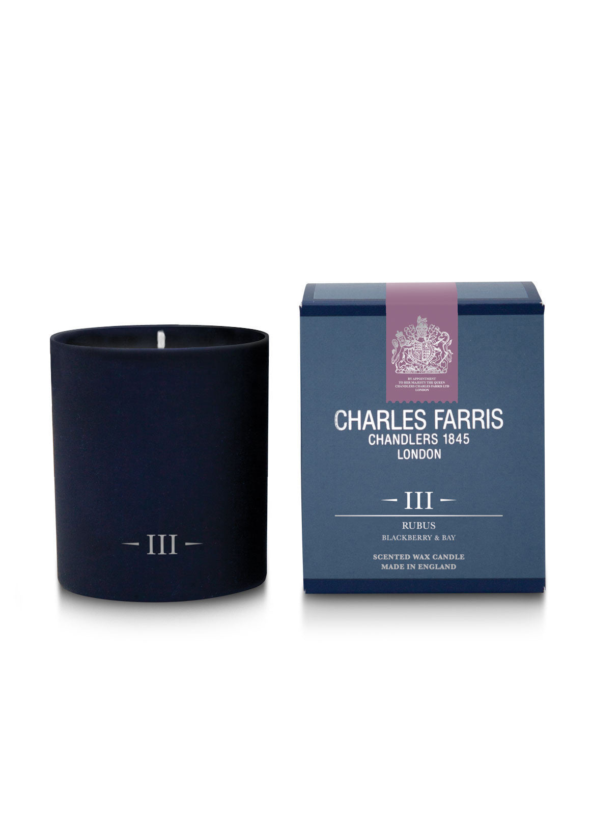 Rubus Scented Candle | Blackberry & Bay