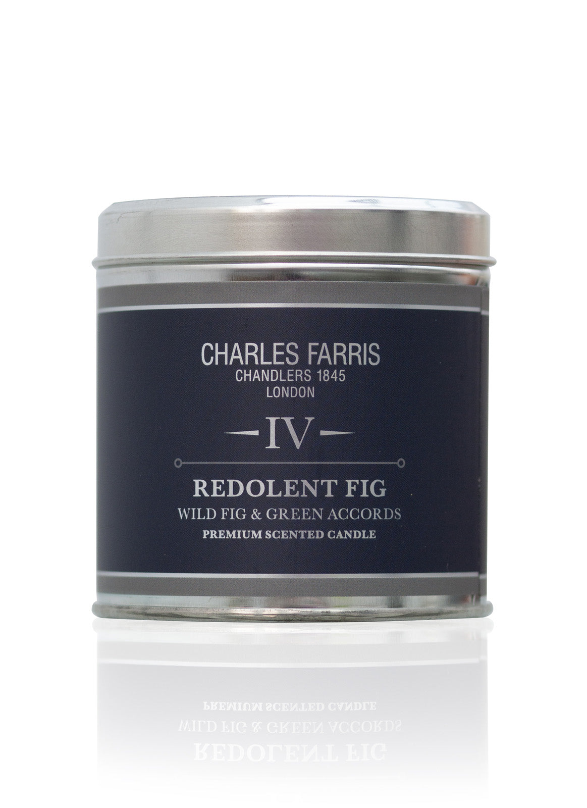 Redolent Fig Tin Candle | Wild Fig & Green Accords