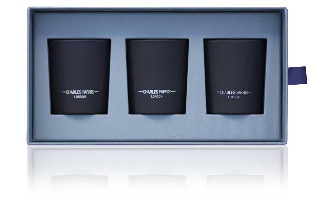 Mini Candle Gift Set | Rubus, British Expedition, and Garden of Eden