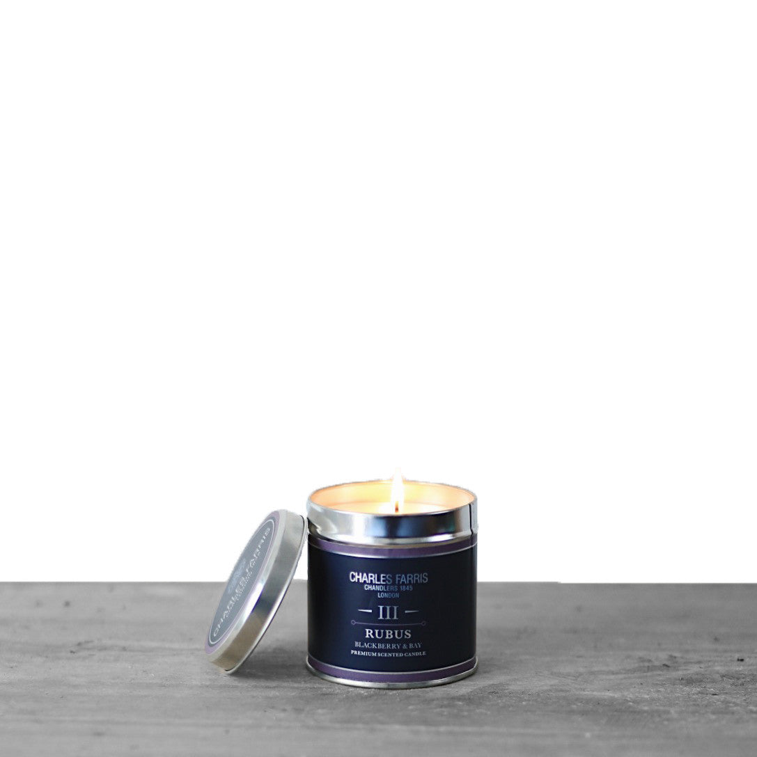 Rubus Tin Candle | Blackberry & Bay
