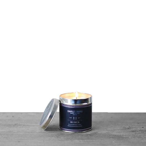 Rubus Signature Tin Candle
