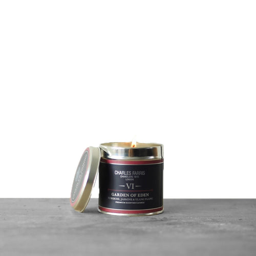 Garden of Eden Signature Tin Candle