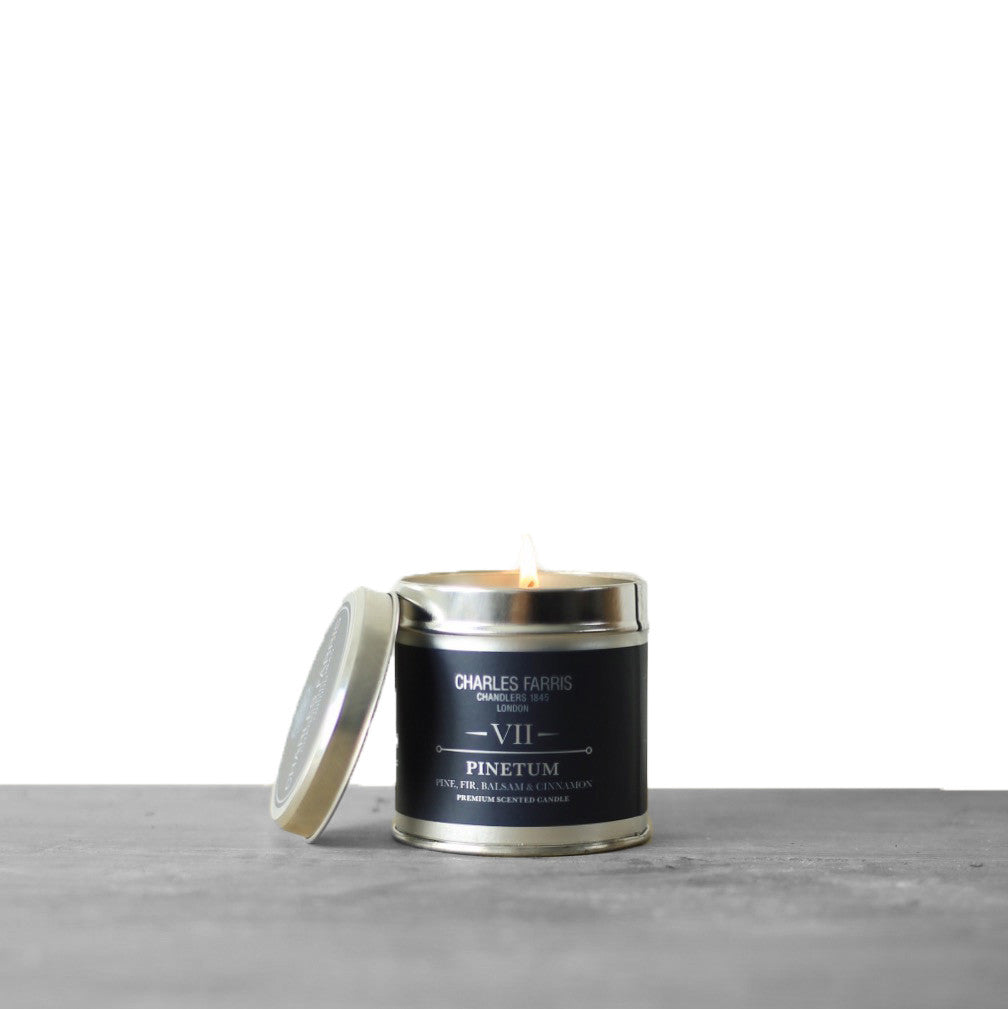 Pinetum Tin Candle | Pine, Fir, Balsam & Cinnamon