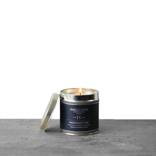 Redolent Fig Signature Tin Candle