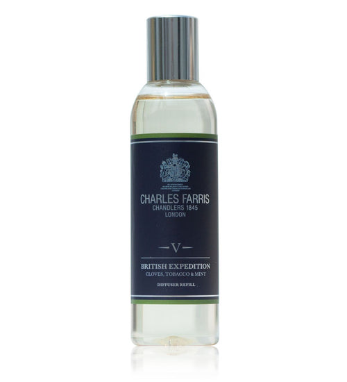 British Expedition Diffuser Refill | Cloves, Tobacco & Mint Tea