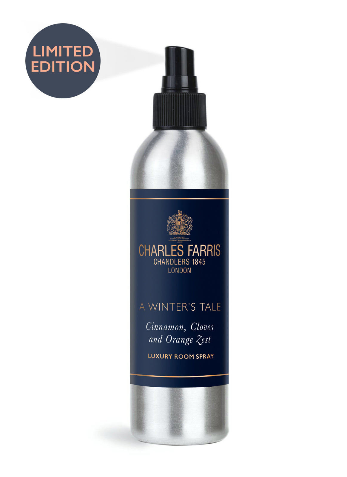 A Winter's Tale Room Spray | Orange Zest, Cinnamon & Cloves