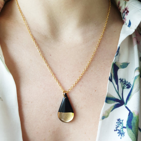 sustainable recycled jewelry handmade from vinyl record