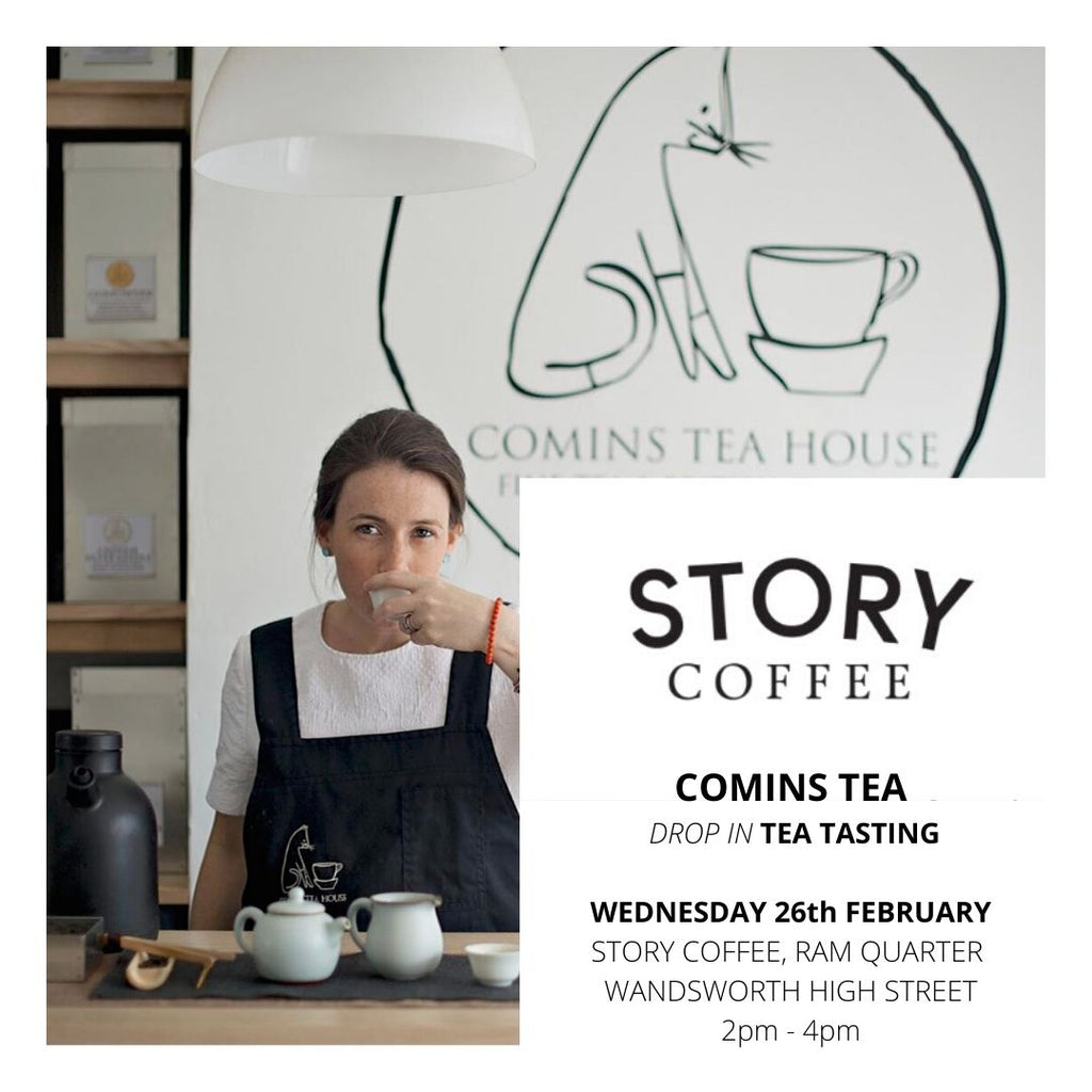 Join us at our partner STORY COFFEE Wandworth Wed 26th February 2020