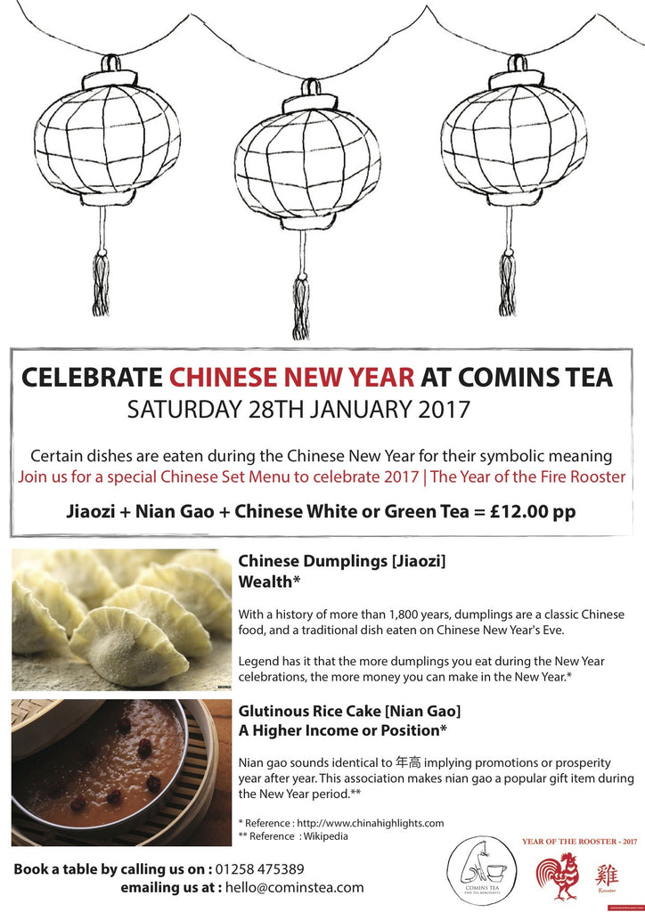 Celebrate Chinese New Year at Comins