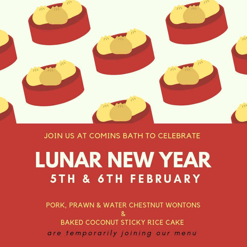 Celebrate Lunar New Year at our Bath Tea House