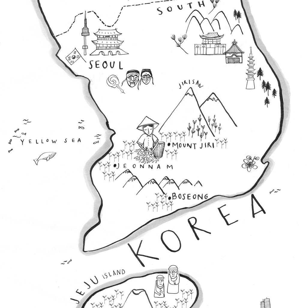 60 Partners : 60 Days : An Introduction to South Korean Tea