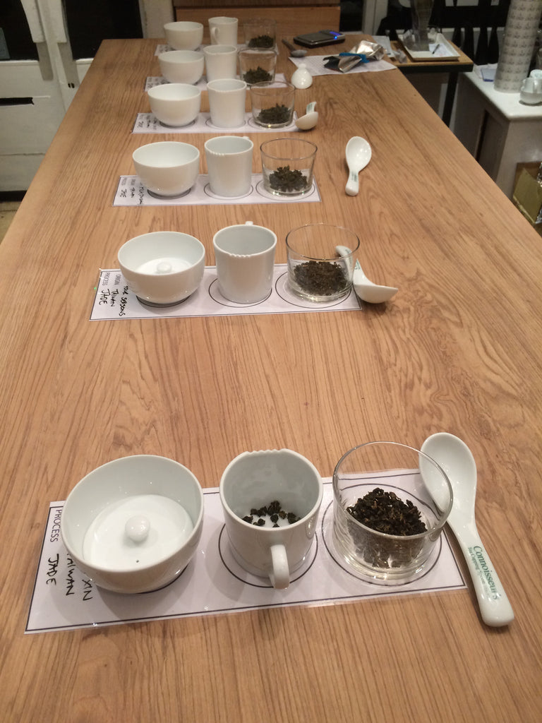 Notes from our Oolong Masterclass