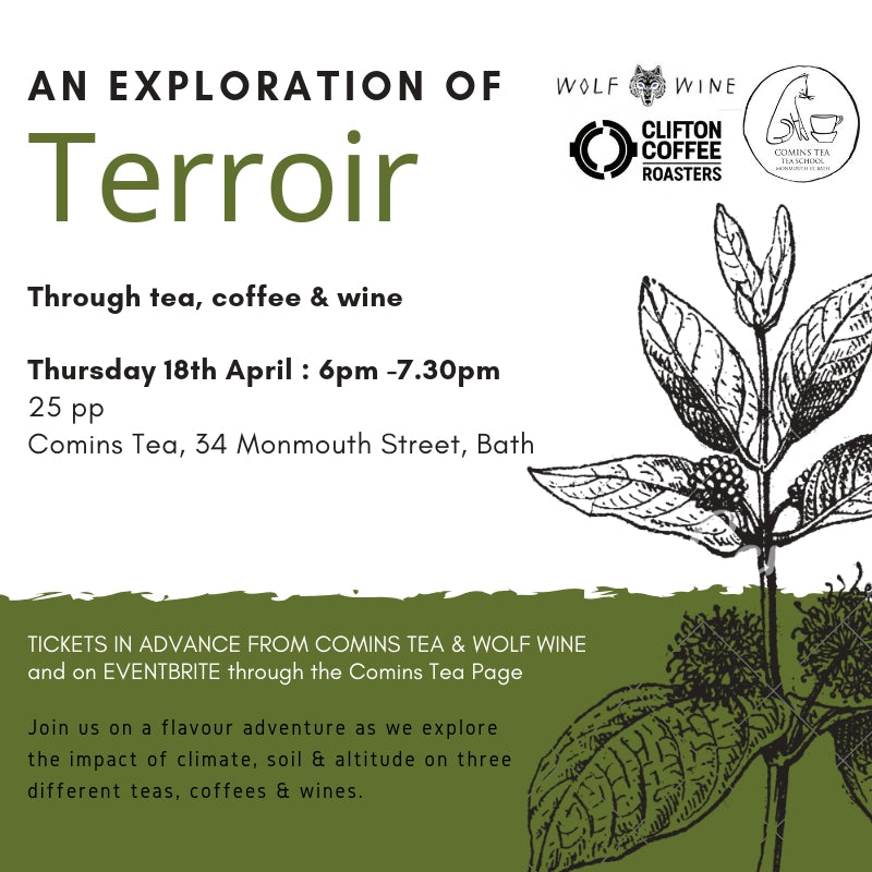 An Exploration of Terroir : 18th April 2019 [18.00-19.30]