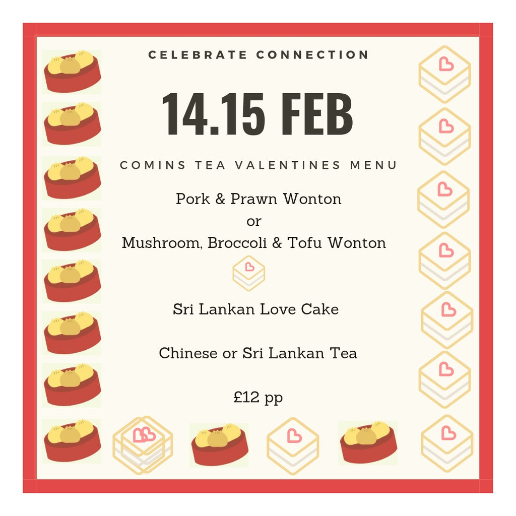 Celebrate Connection at Comins : Valentines 2019