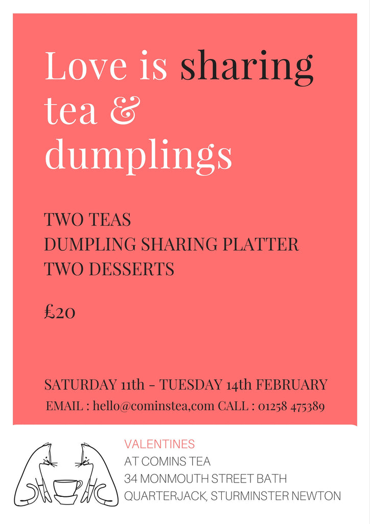 Valentines Day at Comins Tea