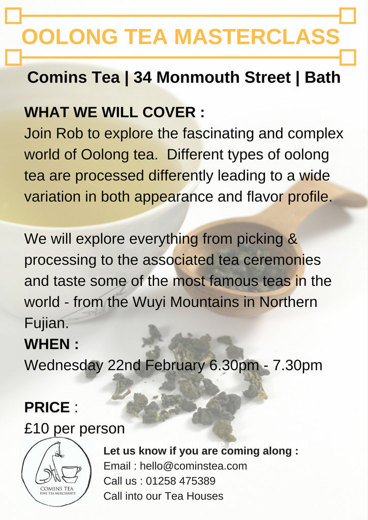 Oolong Masterclass 22nd February