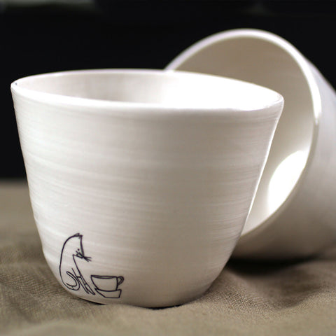 Set of Two Tea Bowls - Comins Tea - 3