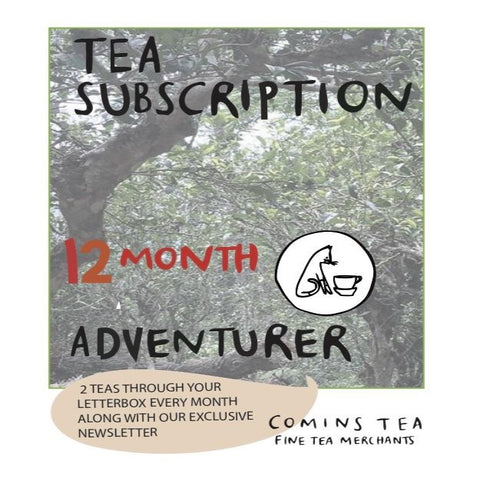 12 Month Tea Adventurer Subscription
