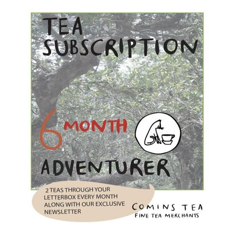 6 Month Tea Adventurer Subscription