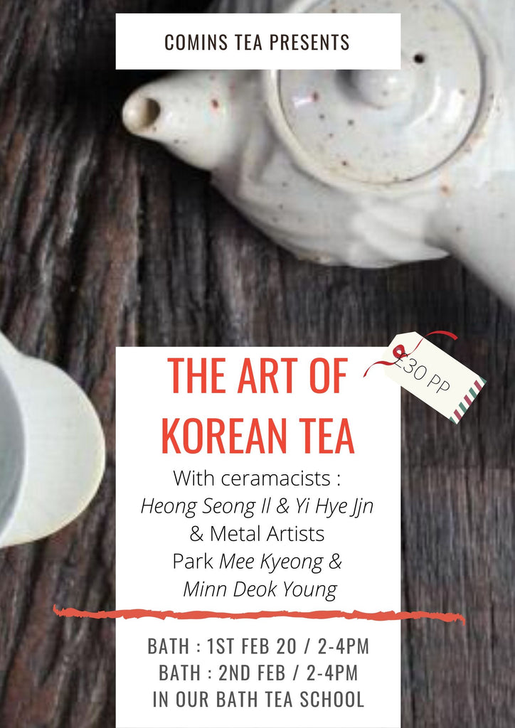 ART OF KOREAN TEA WORKSHOP