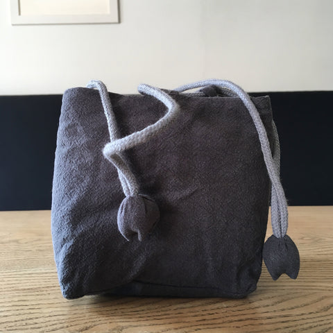 Blue Drawstring Tea Bag | Zhu Ring Studio Jingdezhen
