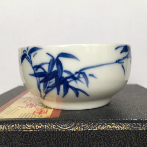 Larger Blue flower Sipping Cup