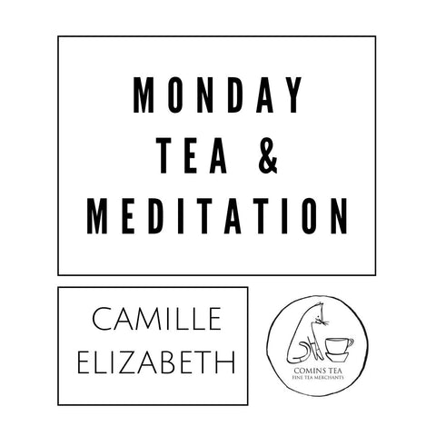 Monday Tea & Meditation [6 week package + meditation mat] STARTING 05.10.20