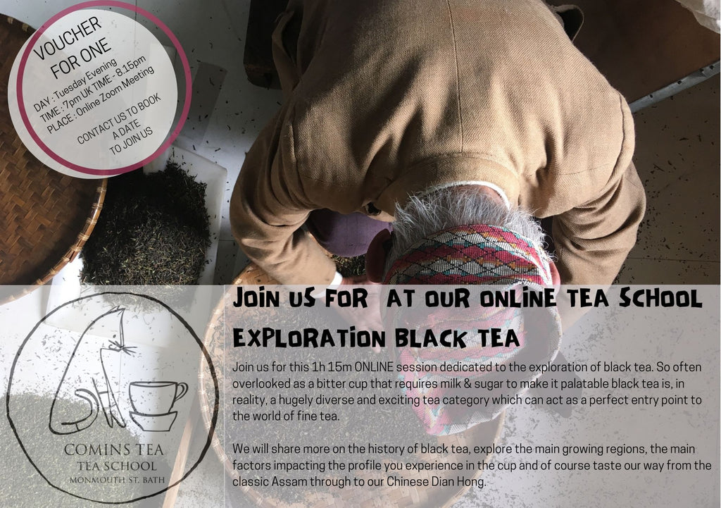 Voucher for ONLINE Tea School 'BLACK TEA""