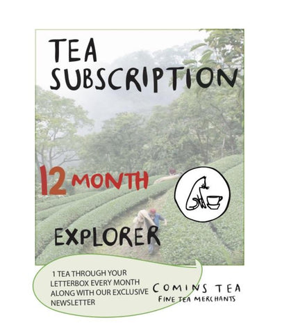 12 Month Tea Explorer Subscription